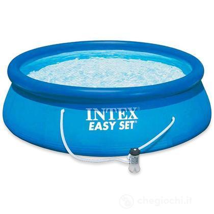 Piscina Easy cm 366x76 cm con pompa filtro (28132)