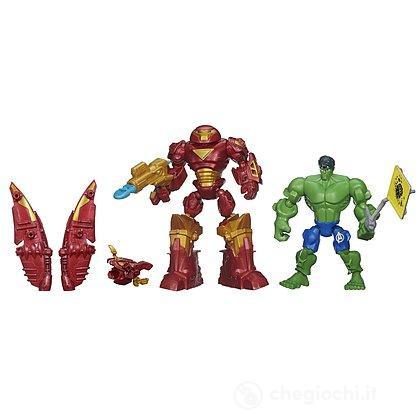 Hero Mashers Hulk Versus Hulk Buster (B1916)