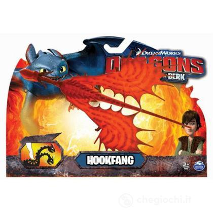 Hookfang rosso lancia dischi – Action Dragons