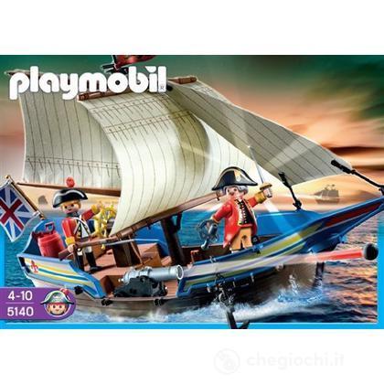 Barca a vela con cannone (5140)