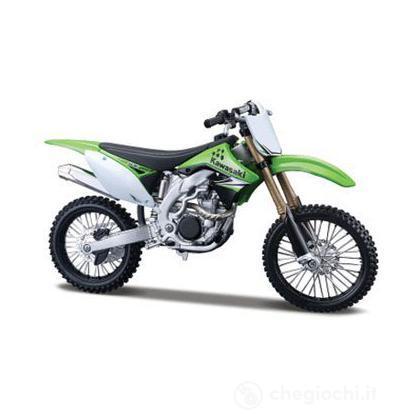 Moto Kawasaki KX 1:12