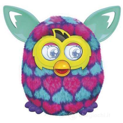 Furby Boom Sunny cuori viola blu