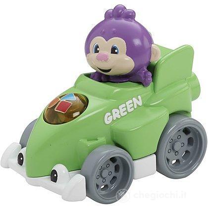 Auto da corsa verde