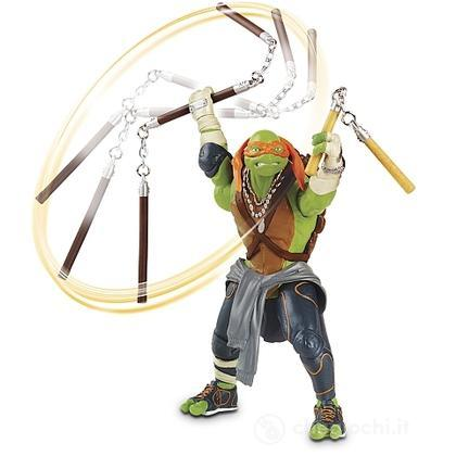 Michelangelo. Tartarughe Ninja Turtles Movie personaggio deluxe