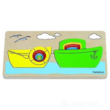 Layer Puzzle Barche (10143)