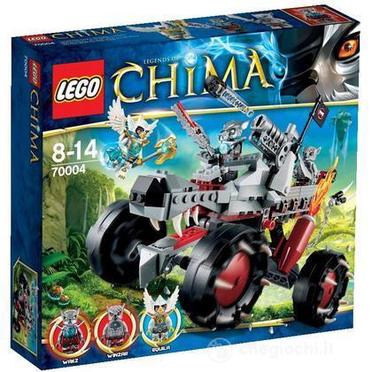 Il Fuoristrada Lupo di Wakz - Lego Legends of Chima (70004)