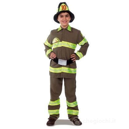 Costume pompiere 7/9 anni (4453)