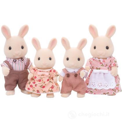 Famiglia conigli crema (3144)