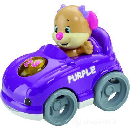 Auto da corsa viola