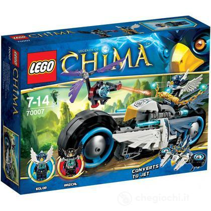 La Bi-moto di Eglor - Lego Legends of Chima (70007)