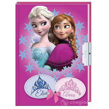 Diario segreto Frozen con lucchetto