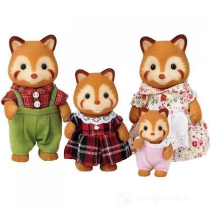 Famiglia Panda rosso (3152)