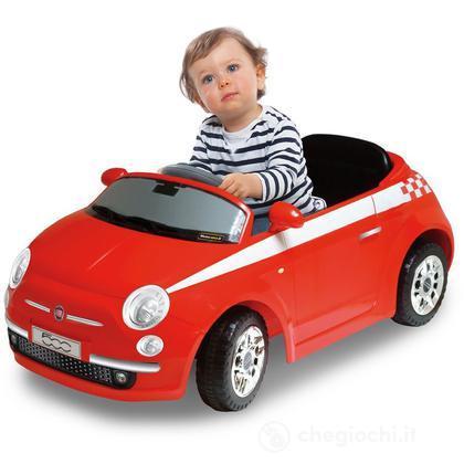 Auto Baby Car Fiat 500 R/C Mp3 Colore Rosso (501531)