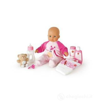 Bambola con pigiama giraffa Set Cambio