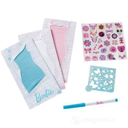 Kit di Ricarica Barbie Disegna lo Stile - Azzurro (W3917)