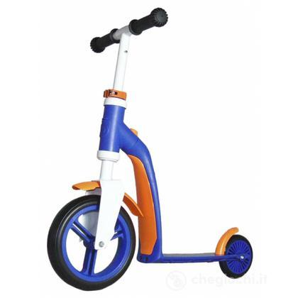 Highwaybaby bici monopattino blu arancio