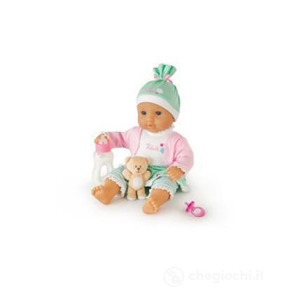 Bambola con vestito gonna verde