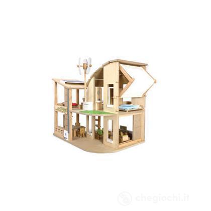 Casa ecologica con accessori
