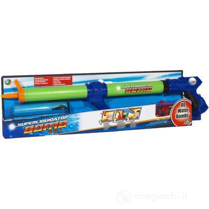 Pistola acqua water bomb big con 80 gavettoni (NCR02158)