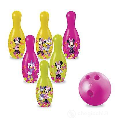 Minnie Mouse Bowtique Set Palla Bowling con Birilli