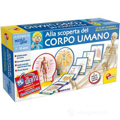 Piccolo Genio Scienza Alla Scoperta Del Corpo Umano (41602)