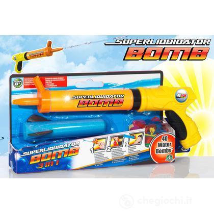 Pistola water bomb small con 40 gavettoni (NCR02160)