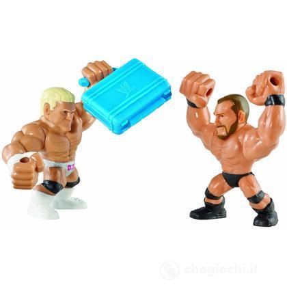 WWE Slam City Randy Orton e Dolph Ziggler - Personaggi cartoni animati battaglia (BHK77)
