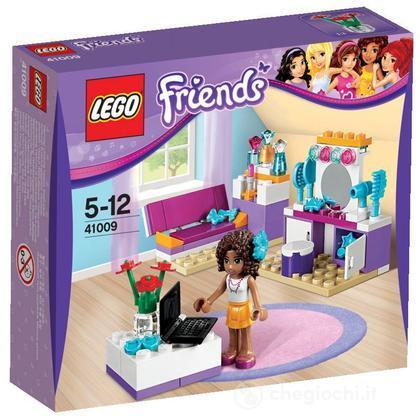 La camera da letto di Andrea - Lego Friends (41009)