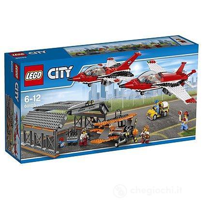 Show aereo all'aeroporto Lego City (60103)