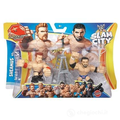 WWE Slam City Sheamus e Brock Lesnar - Personaggi cartoni animati battaglia (BHK82)