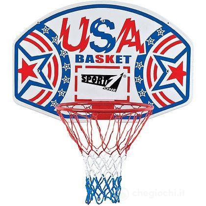 Tabellone Basket USA con canestro