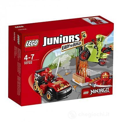 Ninjago resa dei conti con il serpente - Lego Juniors (10722)