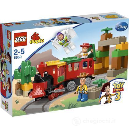 LEGO Duplo - Toy Story Il grande inseguimento ferroviario (5659)