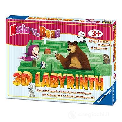 Masha e Orso 3 D Junior Labyrinth (21180)