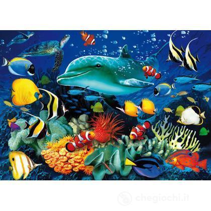 Dolphin Reef 1000 pezzi Magic Puzzle 3D (39186)