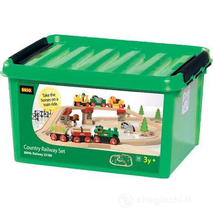 Ferrovia cassetta verde