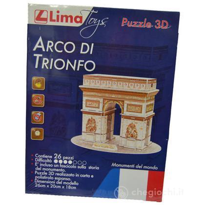 Puzzle 3D - Arco di Trionfo (CW268-6)