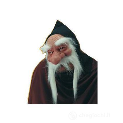 Maschera vecchio con baffi