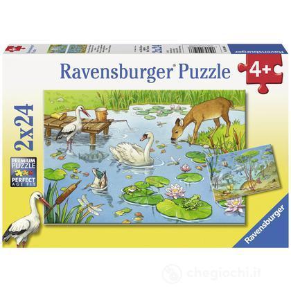 Animali dello stagno 9196 puzzle per bambini for Gli animali dello stagno