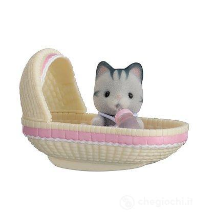 Bebè gatto culla (5198)