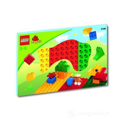 LEGO Duplo Mattoncini -  Basi colorate Lego Duplo (2198)