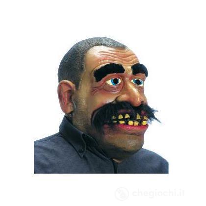 Maschera uomo con baffi gigante
