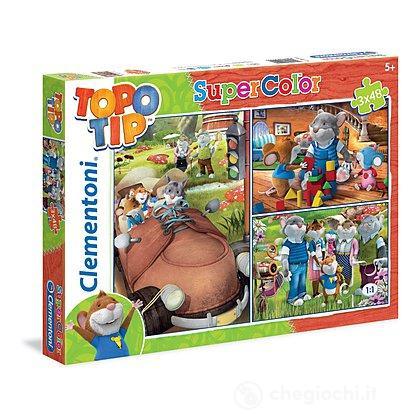 Topo Tip Puzzle 3x48 pezzi (25199)