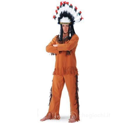 Costume adulto Capo Indiano L (83200)