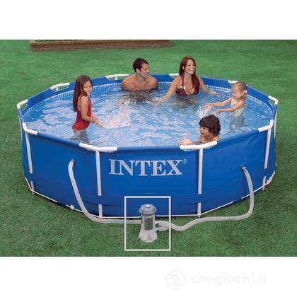 Piscina frame cm 305x76 con pompa 28202 piscine intex giocattoli - Pompa piscina intex ...