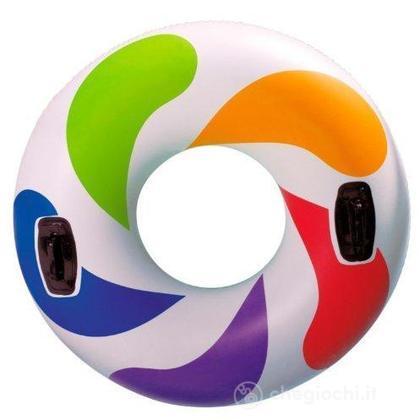 Ciambellone con maniglie Whirl tube 58202
