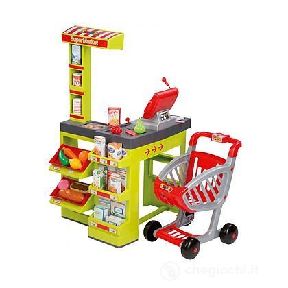 Supermercato con carrello (7600350202)
