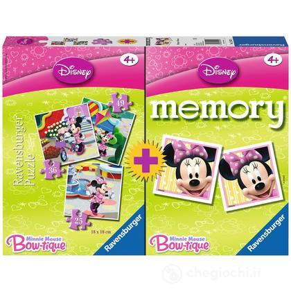 Memory + 3 puzzle Minnie Mouse
