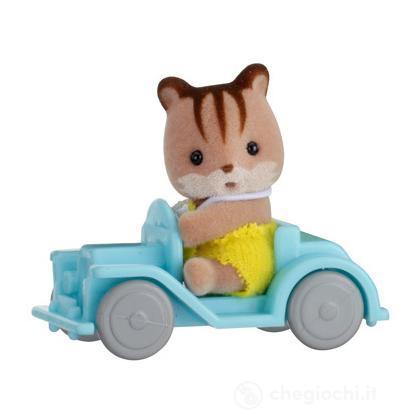Bebè coniglio/macchina (5203)