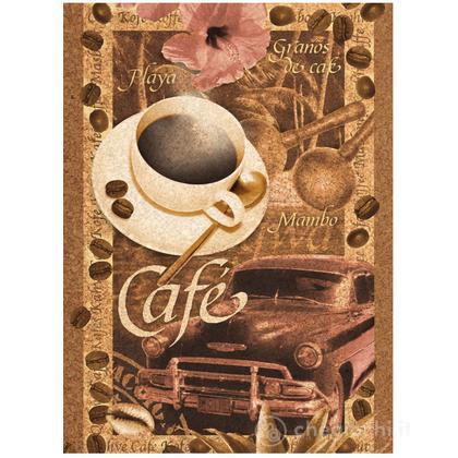 Café - 500 pezzi Cork Puzzle (Sughero) (30203)